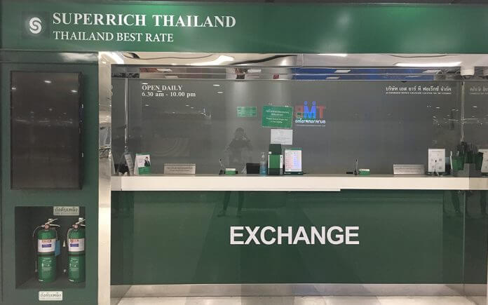 cambio tailandia locais troca dinheiro