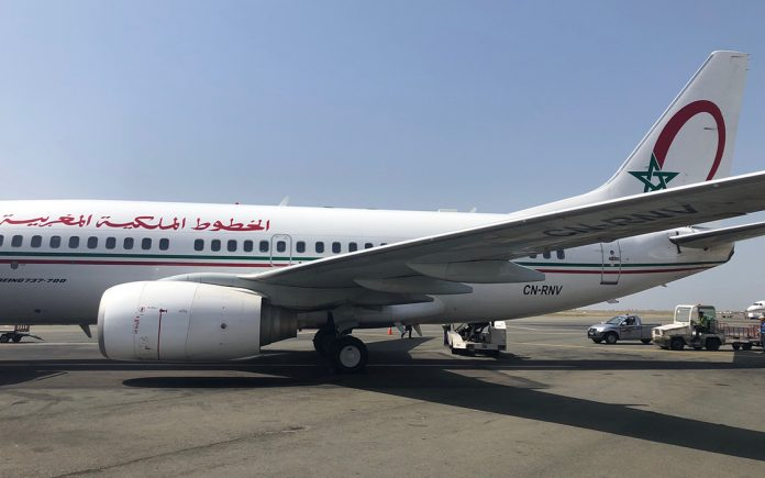 voar de Royal Air Maroc