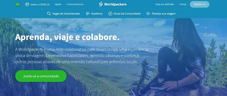 Worldpackers site