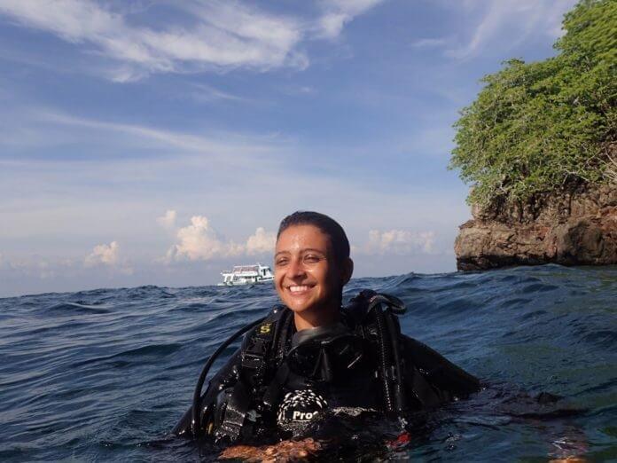 meu mergulho - a experiencia Profun-Divers