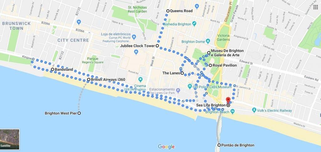 Brighton Inglaterra: O que fazer, dicas e valores