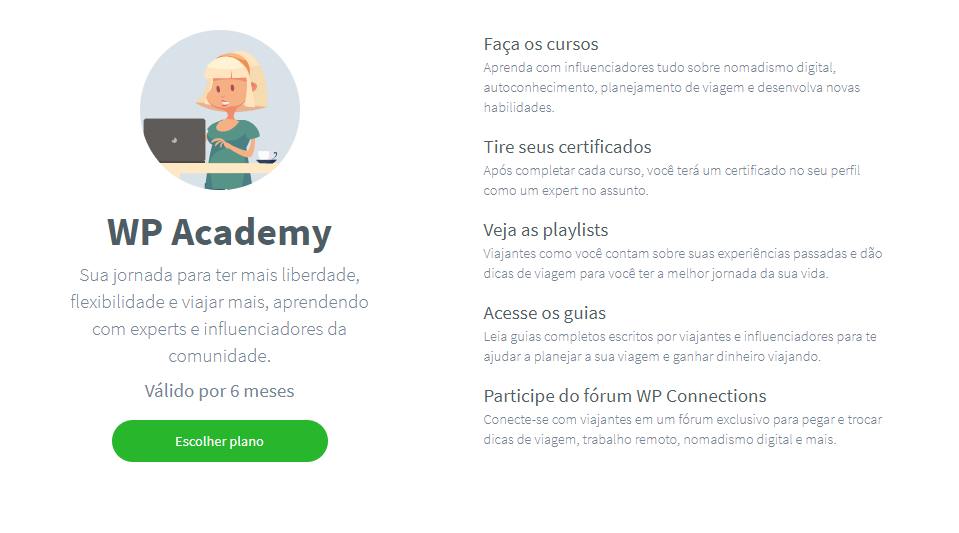 Vantagens Worldpackers Academy