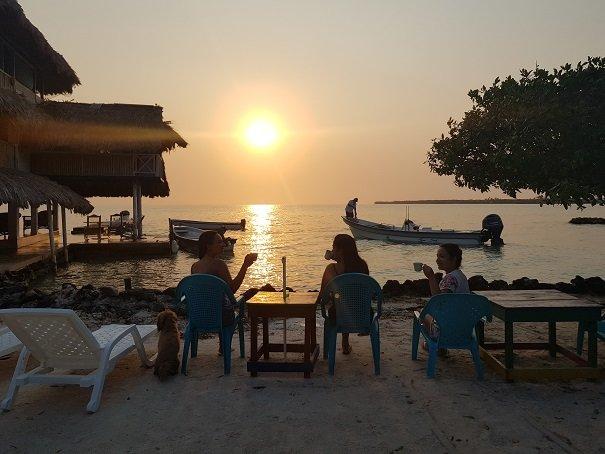 Arquipélago San Bernardo, Colômbia: 3 dias hospedada em uma ilha