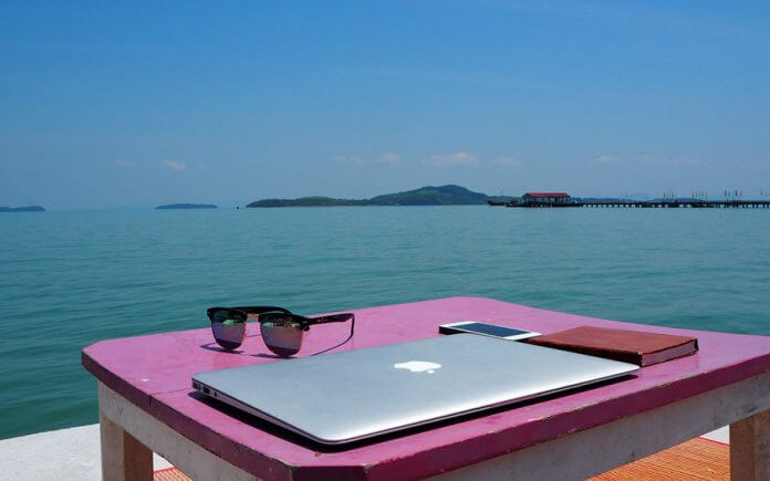 trabalho remoto viajar nomadismo digital