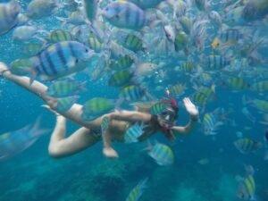 mergulho na Tailândia