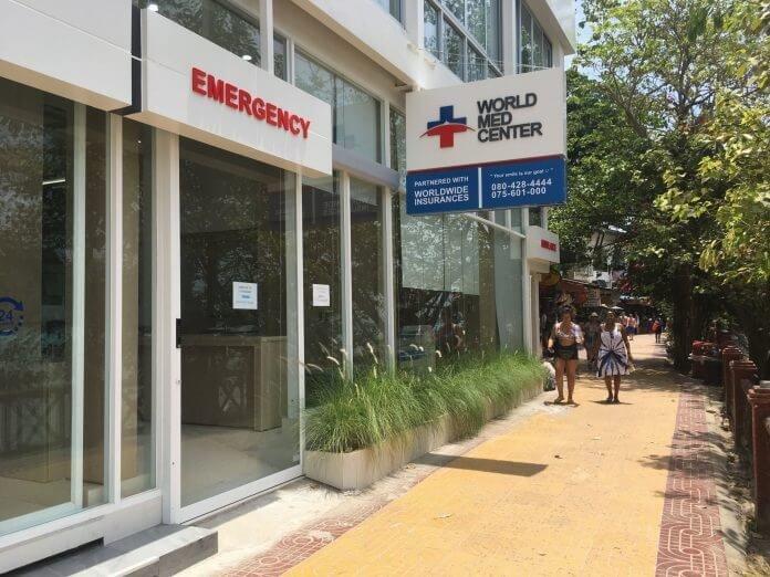 como usei meu seguro viagem em um hospital na tailandia
