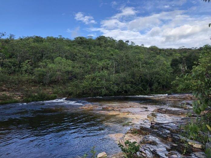 Região do camping Quebra Anzol