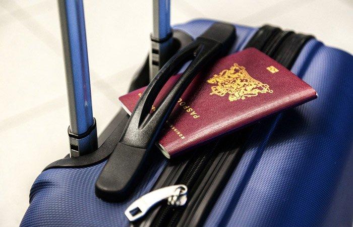 passaporte na imigração